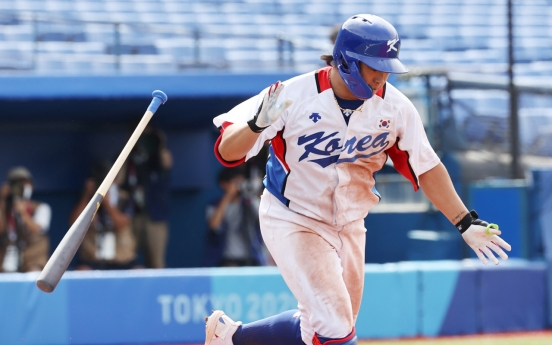 [Tokyo Olympics] Once sputtering, S. Korean offense wakes up in time for baseball semifinals