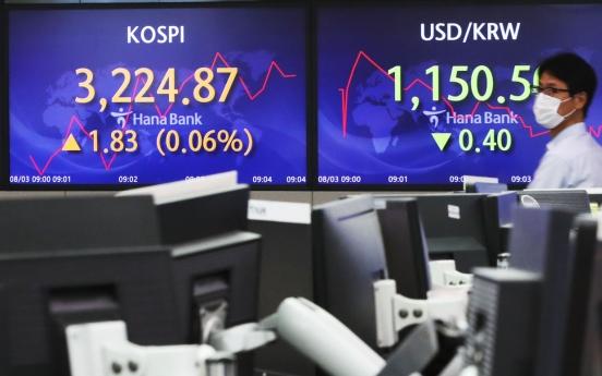 Seoul stocks open higher on tech gains