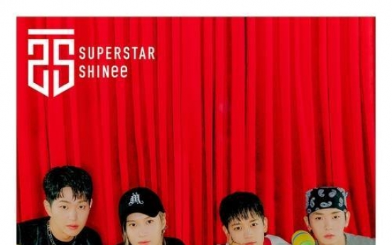 Boy band SHINee tops Japanese music chart with new EP