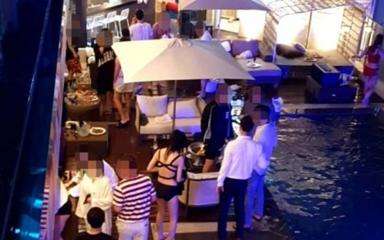 Gangwon wages war against pool parties