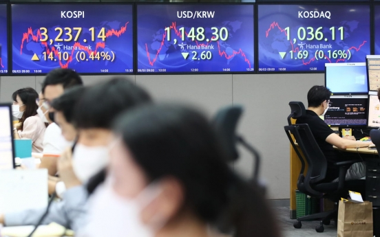 Seoul stocks up for 2nd day on tech gains after choppy trading