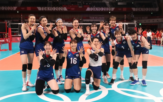 [Tokyo Olympics] S. Korea volleyball coach still dreaming after unlikely victory over Turkey