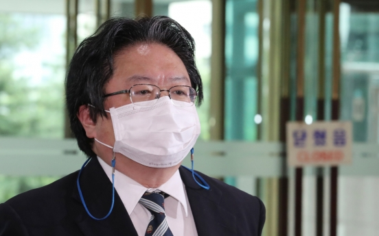 In wake of vulgar remarks, Japan's No. 2 diplomat in Korea returns home