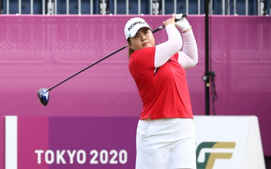 [Tokyo Olympics] Defending champion overcomes nerves for solid opening round in women's golf