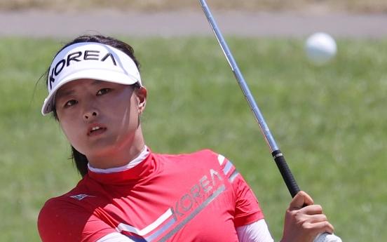 [Tokyo Olympics] S. Korean LPGA stars in early contention in women's golf