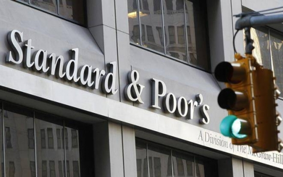 S&P leaves S. Korea's growth rate, credit rating unchanged