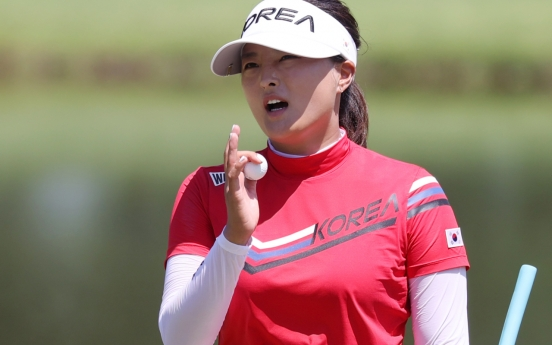 [Tokyo Olympics] Ko Jin-young fueled by anger to start women's golf tournament