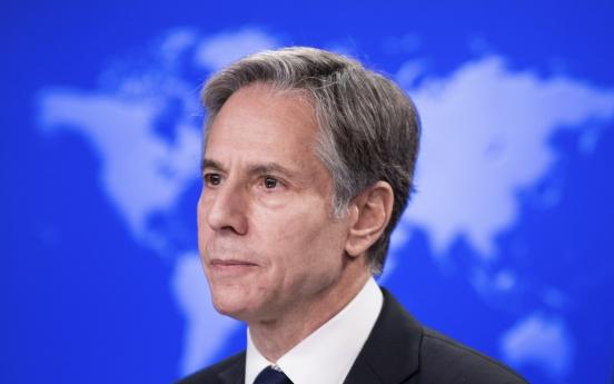 Blinken reaffirms US commitment to denuclearization of Korean Peninsula