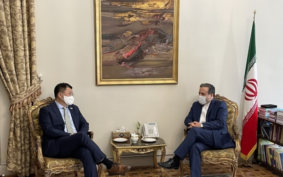 Vice FM Choi holds talks with Iranian counterpart on frozen Tehran assets, JCPOA