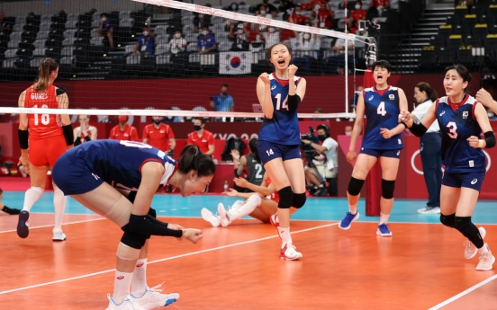 [Tokyo Olympics] Nothing to lose, everything to gain, as S. Korea takes on Brazil in volleyball semis