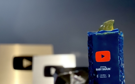 'Baby Shark' creator awarded for 50m YouTube subscribers