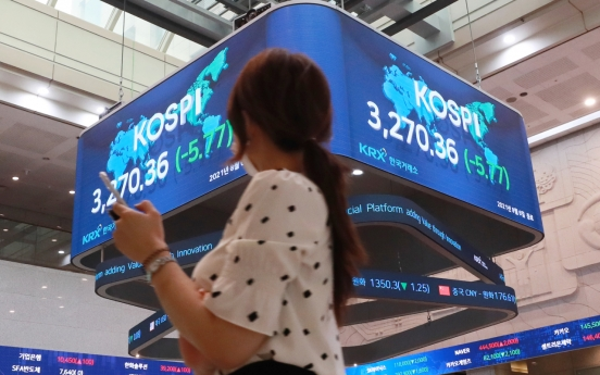 Seoul stocks down for 2nd day on virus concerns