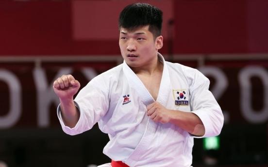 [Tokyo Olympics] Park Hee-jun narrowly misses inaugural medal in karate