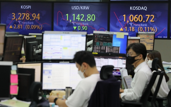 Blockbuster IPOs push Kospi's market cap to record high
