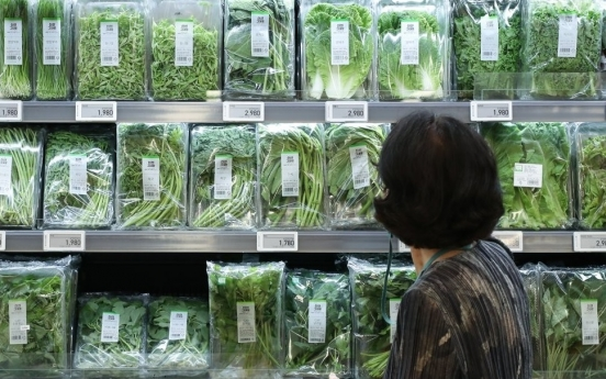 S. Korea's food prices increase to third highest among OECD states