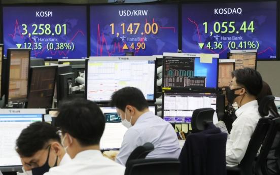 Seoul stocks open lower on US jobs data