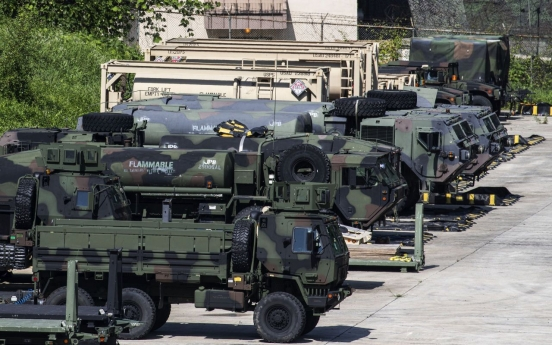 S. Korea, US to hold preliminary training this week ahead of main exercise