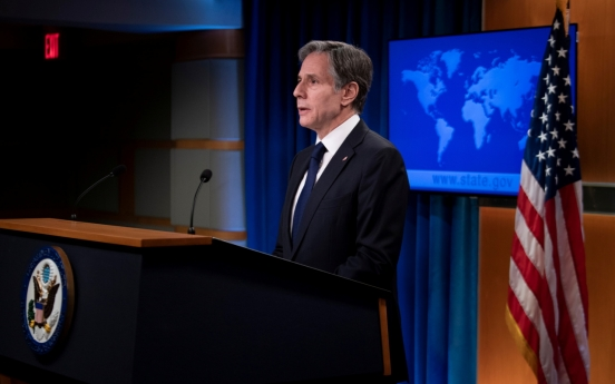 Blinken says open to 'different options' in renewed call for NK dialogue: official