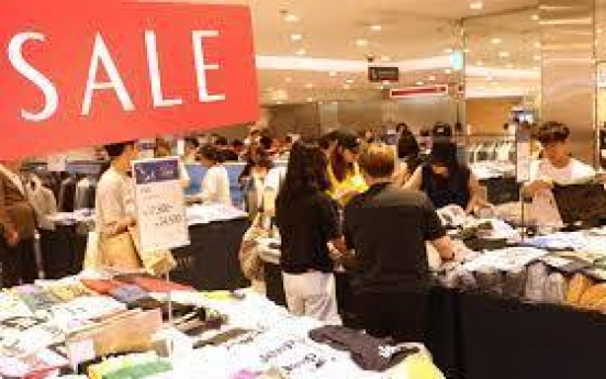 Department store sales climb at fastest pace in Q2
