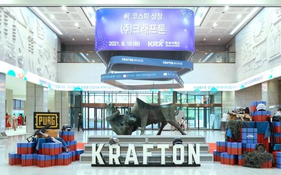 Krafton market debut disappoints