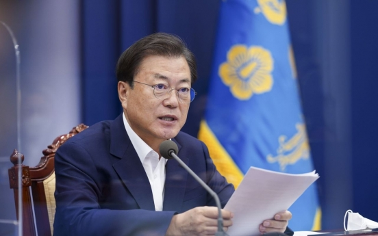Moon says S. Korea at critical time in fight against coronavirus