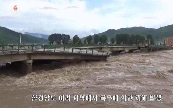 Heavy rain pummels northern region of North Korea: state media