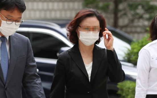 Appellate court upholds 4-year prison term for ex-justice minister's wife