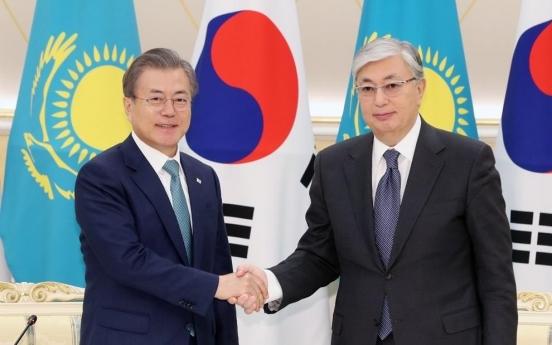 Kazakh president to visit Seoul next week