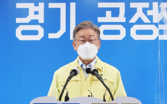 [Newsmaker] Gyeonggi governor announces in-province universal COVID-19 relief handouts