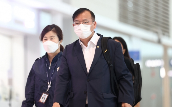 Korean delegation to meet with Moderna to resolve vaccine disruption