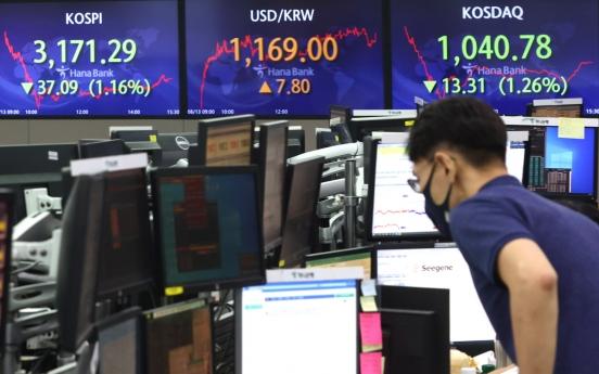 Seoul stocks suffer weeklong slump on extended tech losses