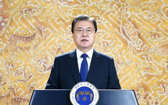 Moon vows continued efforts to resolve comfort women issue on memorial day