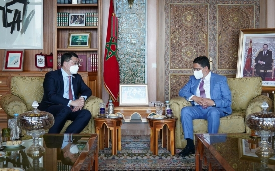 Vice FM Choi meets Moroccan FM on bilateral cooperation
