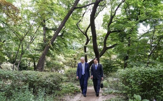 Korea, Kazakhstan agree to boost ties in Seoul summit