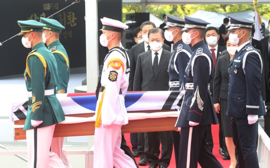 Independence fighter laid to rest in S. Korea, 78 years after death in Kazakhstan