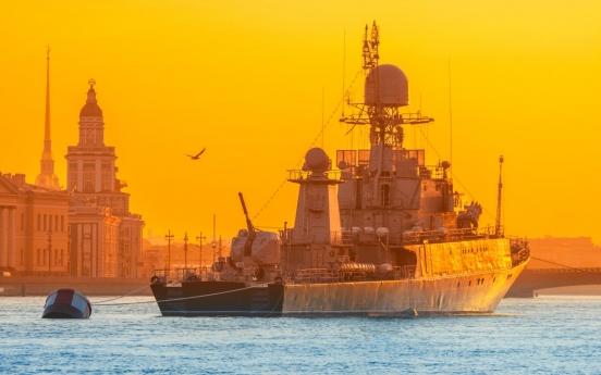 Russian warship fires warning shots at S. Korean fishing boat