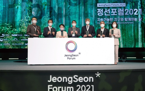 JeongSeon Forum 2021 sheds light on living together with sustainable Earth