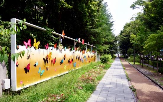 [Eye Plus] Nostalgic walk along Gyeongchun Line Forest Park