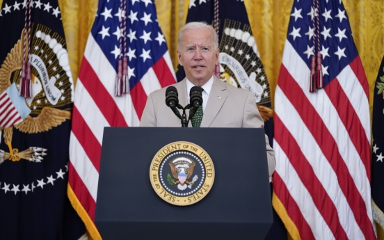 Biden reaffirms commitment to S. Korea's defense amid Afghan withdrawal
