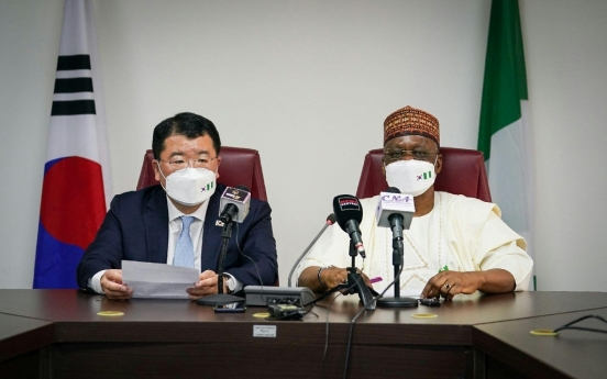 Vice FM Choi discusses bilateral ties, maritime security with Nigerian FM