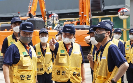 Hyundai Heavy completes takeover of Doosan Infracore