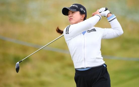 Kim Sei-young 3 back of lead after 3 rounds at LPGA season's final major