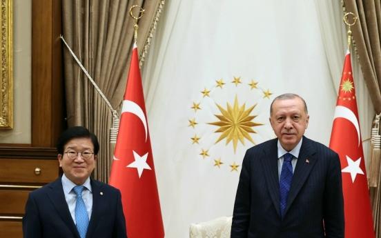 Assembly speaker seeks support for Korean businesses in Turkey, Azerbaijan