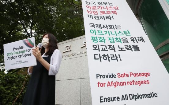 Dispute grows in S. Korea over Afghan refugees