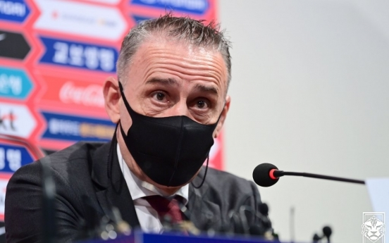 S. Korea football coach focusing on controllable ahead of World Cup qualifiers