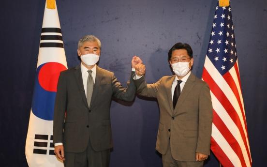 Top nuclear envoys of S. Korea, US discuss humanitarian aid to N. Korea