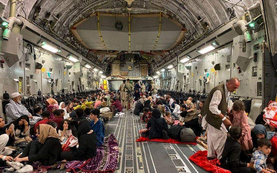 US military says not asked to take in Afghan evacuees