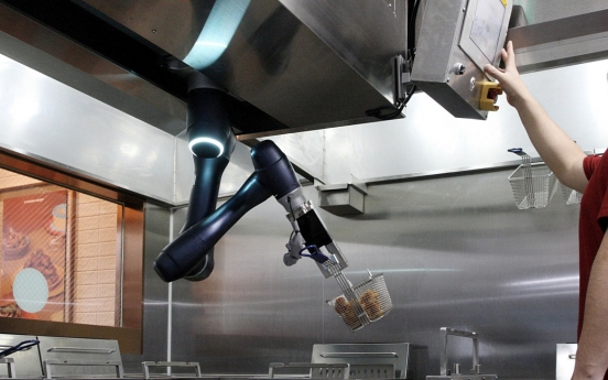 Robots to fry chicken at Kyochon