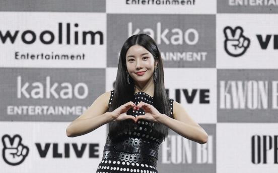 Kwon Eun-bi opens new chapter of musical career with 'Door'