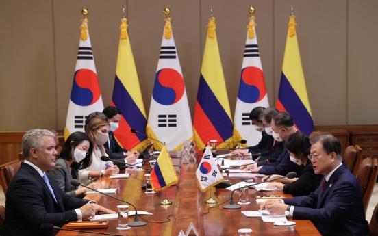 Korea, Colombia to bolster post-COVID partnership